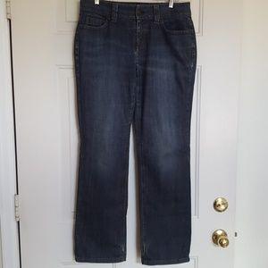 Ann Taylor Curvey Fit Jeans Lindsay waist